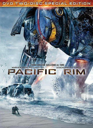 Pacific Rim (Two-Disc Special Edition DVD + UltraViolet), Very Good DVD, Ron Per