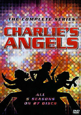 CHARLIE'S ANGELS COMPLETE SERIES DVD NEW SEALED OPERATION GRATITUDE