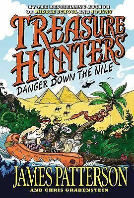 Treasure Hunters: Danger Down the Nile, Grabenstein, Chris, Patterson, James, Go