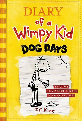 Dog Days (Diary of a Wimpy Kid, Book 4), Jeff Kinney, Acceptable Book