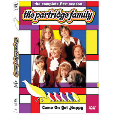 The Partridge Family - The Complete First Season, Good DVD, Shirley Jones, David