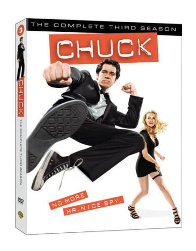 CHUCK COMPLETE THIRD SEASON DVD NEW SEALED OPERATION GRATITUDE