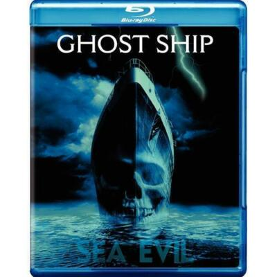 GHOST SHIP SEA EVIL BLU RAY NEW SEALED OPERATION GRATITUDE