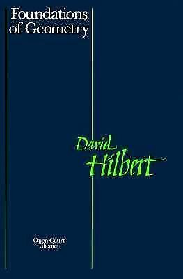 Foundations of Geometry by Hilbert, David