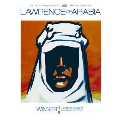 LAWRENCE OF ARABIA 50TH ANNIVERSARY LIMITED EDIT BLU RAY NEW OPERATION GRATITUDE