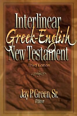 Interlinear Greek-English New Testament by