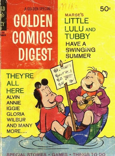 Golden Comics Digest #33  1973  Little Lulu and Tubby
