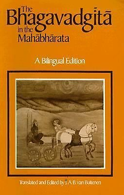 The Bhagavadgita in the Mahabharata by