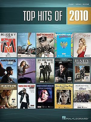 Top Hits Of 2010 (Top Hits of Piano Vocal Guitar) by Hal Leonard Corp.