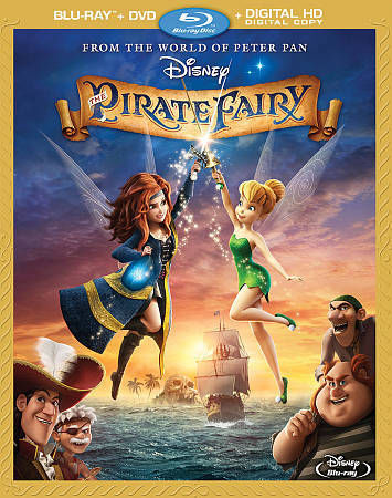 The Pirate Fairy (Blu-ray / DVD + Digital Copy), Acceptable DVD, Megan Hilty, Ra