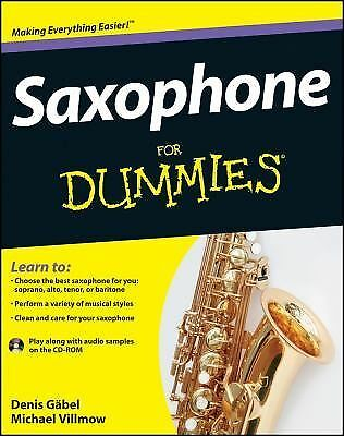 Saxophone For Dummies, Michael Villmow, Denis Gäbel, Acceptable Book