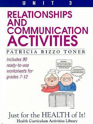 Relationships and Communication Activities: Includes 90 Ready-To-Use Worksheets