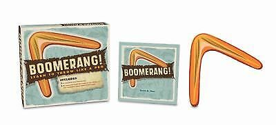 Boomerang!: Learn to Throw Like a Pro, Hom, Susan K., Good Book