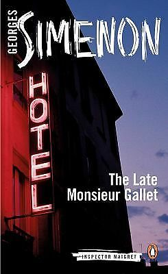 The Late Monsieur Gallet (Inspector Maigret) by Simenon, Georges