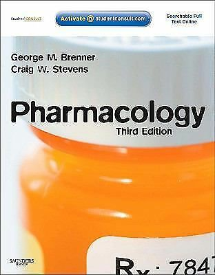 Pharmacology: With STUDENT CONSULT Online Access, 3e, Stevens PhD, Craig, Brenne