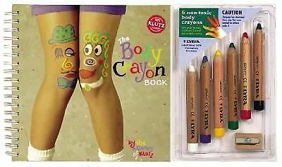 Body Crayon Book (Klutz) by Scholastic