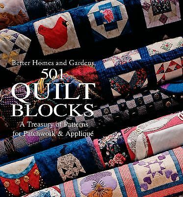 501 Quilt Blocks: A Treasury of Patterns for Patchwork and Applique (Better Home
