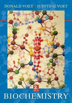 Biochemistry, Donald Voet, Good Book