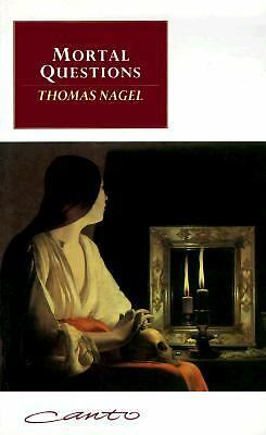 Mortal Questions (Canto) by Nagel, Thomas