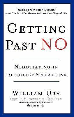 Getting Past No, William Ury, Acceptable Book