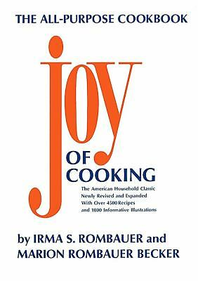 Joy of Cooking, Irma S. Rombauer, Marion Rombauer Becker, Acceptable Book