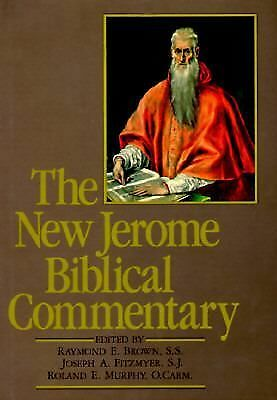 The New Jerome Biblical Commentary, Brown S.S, Raymond E., Good Book