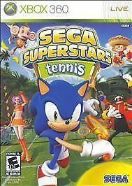Sega Superstars Tennis  (Xbox 360, 2008)
