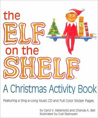 Elf on the Shelf Activity Book by