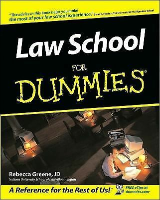 Law School For Dummies, Rebecca Fae Greene, Good Book