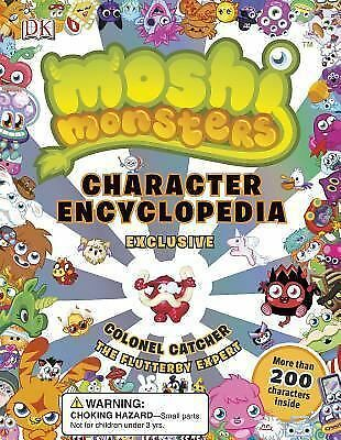 Moshi Monsters: Character Encyclopedia, Sipi, Claire, Holowaty, Lauren, Cleverle