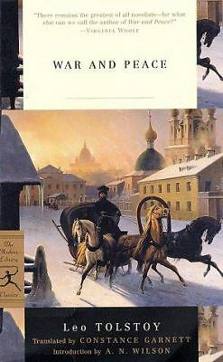 War and Peace (Modern Library Classics), Leo Tolstoy, Good Book