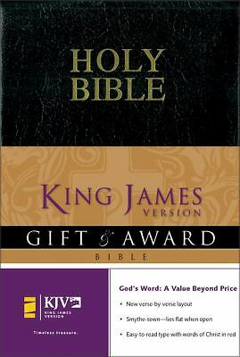 KJV Gift & Award Bible, Revised, , Acceptable Book