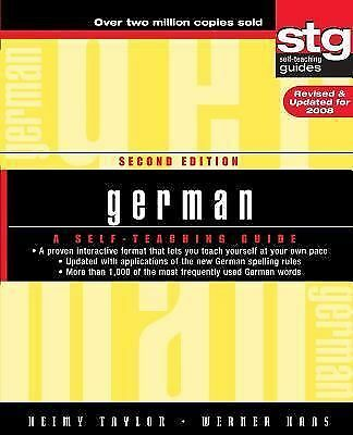 German: A Self-Teaching Guide by Taylor, Heimy, Haas, Werner