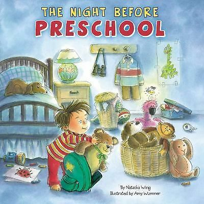 The Night Before Preschool, Wing, Natasha, Good Book