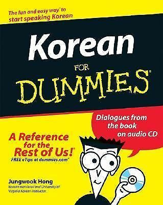Korean For Dummies, Hong, Jungwook, Acceptable Book