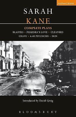 Sarah Kane: Complete Plays (Contemporary Dramatists), Kane, Sarah, Acceptable Bo
