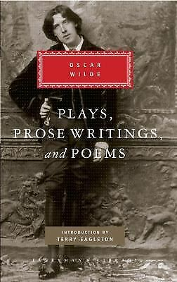 Plays, Prose Writings and Poems (Everyman's Library) by Oscar Wilde