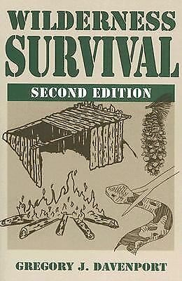 Wilderness Survival: 2nd Edition, Davenport, Gregory J., Good Book