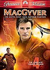 Macgyver - The Complete Fourth Season, Good DVD, Rod Menzies, Jaylene Hamilton,