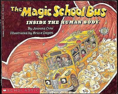 The Magic School Bus Inside the Human Body, Joanna Cole, Acceptable Book