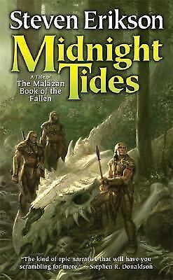 Midnight Tides - A Tale of the Malazan Book of the Fallen by Erikson, Steven