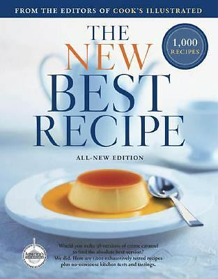 The New Best Recipe: All-New Edition, Cook's Illustrated Magazine, Acceptable Bo