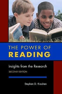 The Power of Reading: Insights from the Research, Stephen D. Krashen, Good Book