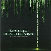 Warner Bros™ THE MATRIX REVOLUTIONS Original Soundtrack Album RARE VINTAGE CD