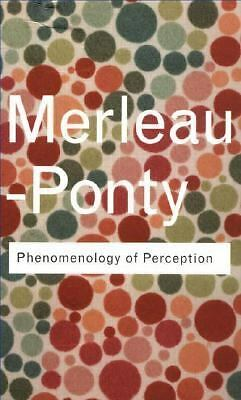 Phenomenology of Perception (Routledge Classics), Maurice Merleau-Ponty, Accepta