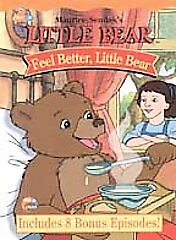 Little Bear: Feel Better, Little Bear, Good DVD, ,