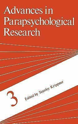 Advances in Parapsychological Research, Krippner, Stanley, Good Book