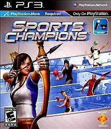 Sports Champions (Sony PlayStation 3, 2010) Brand New Unopened