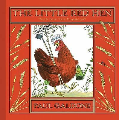 The Little Red Hen (Folk Tale Classics) by Galdone, Paul