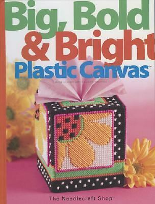 Big, Bold & Bright Plastic Canvas, , Very Good Book
